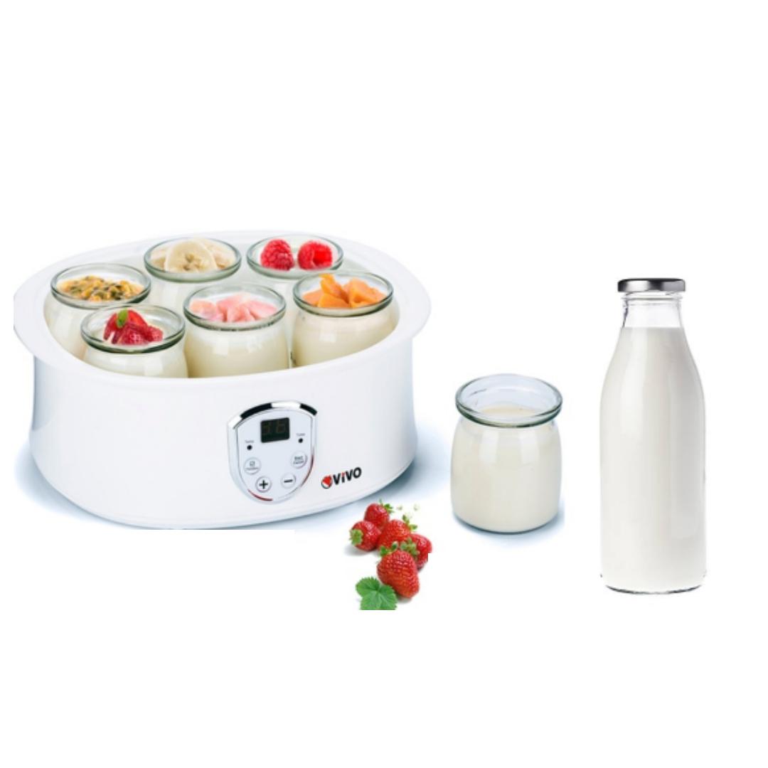 Haz tu propio yogurt y di NO a los envases individuales de plástico