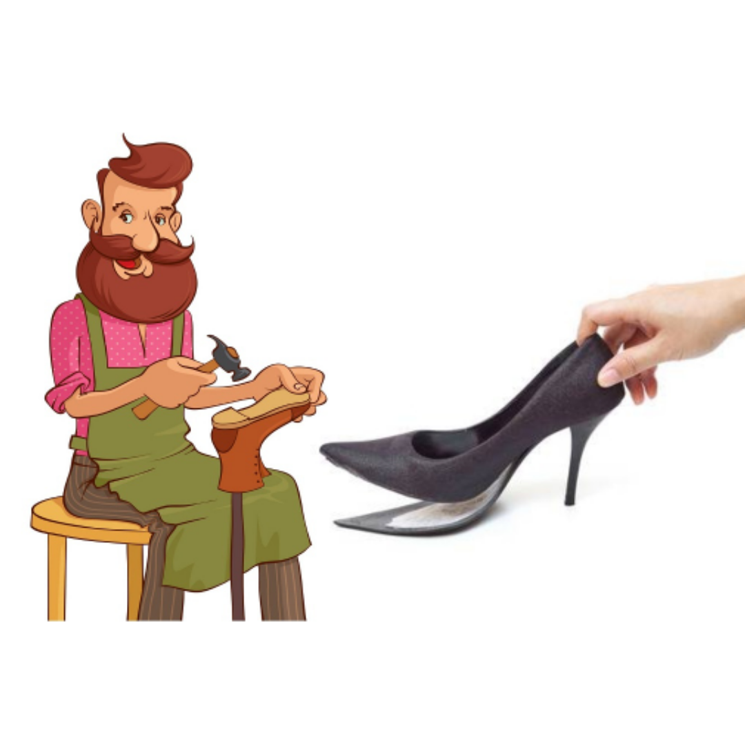Find your local cobbler and give to your shoes a second life