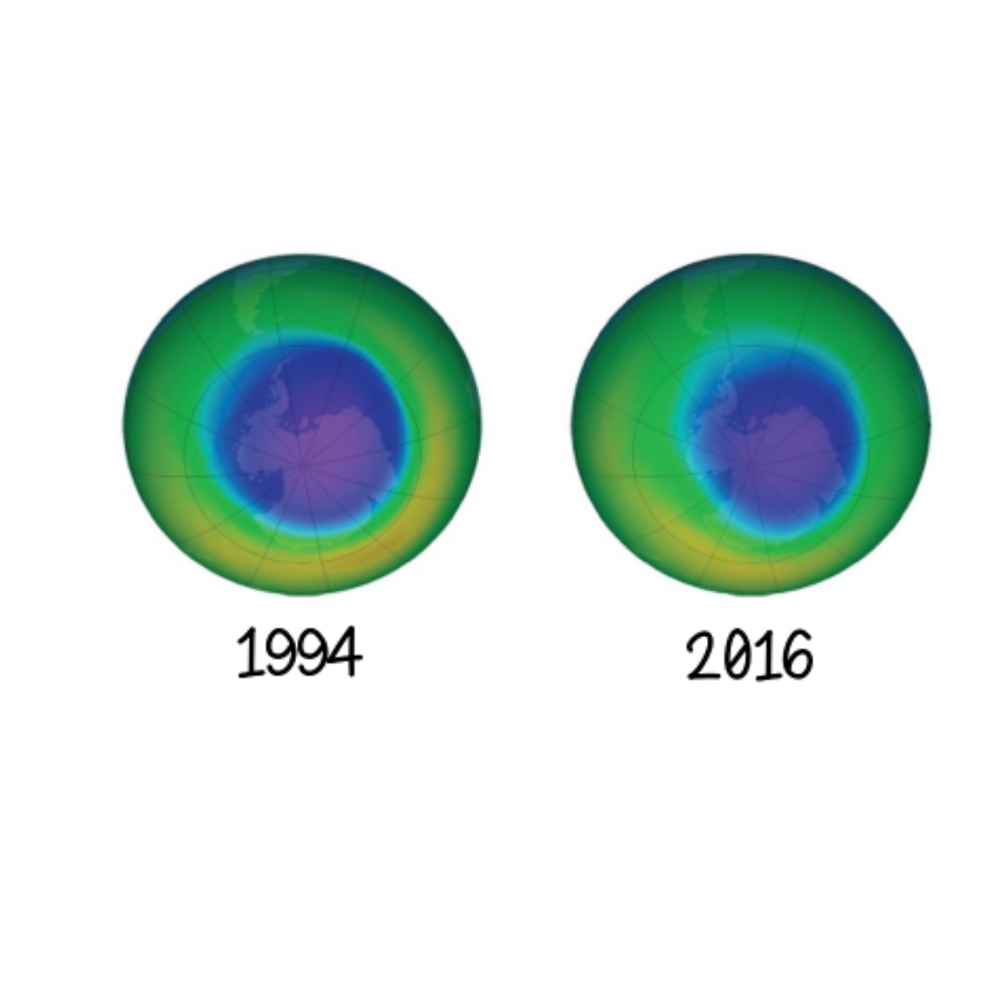 The ozone hole is healing (slowly but surely)