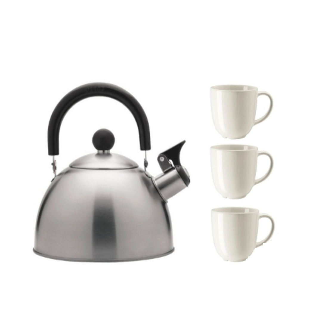 Only fill the kettle to the amount of water needed to save energy