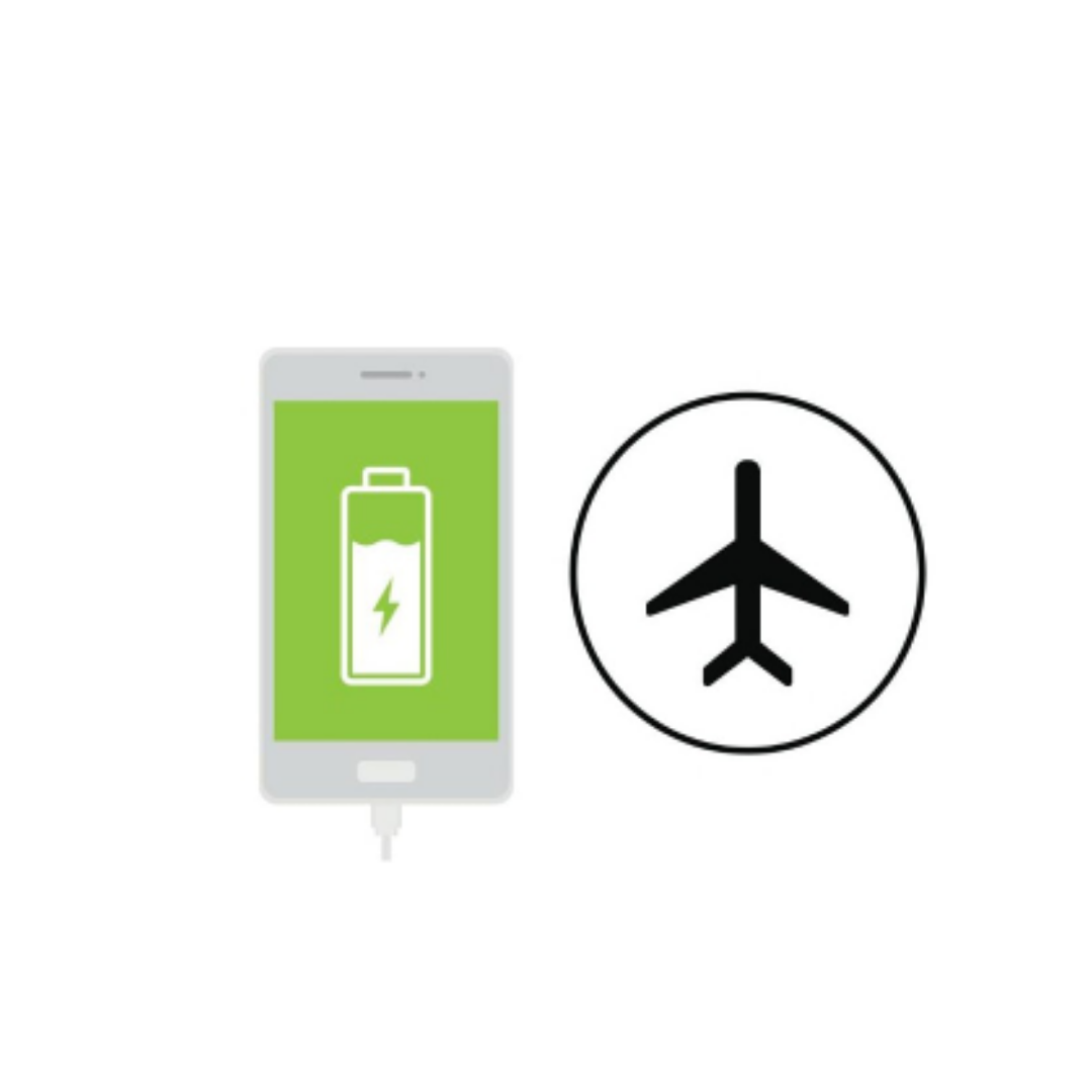Charge your phone in airplane mode and before bedtime