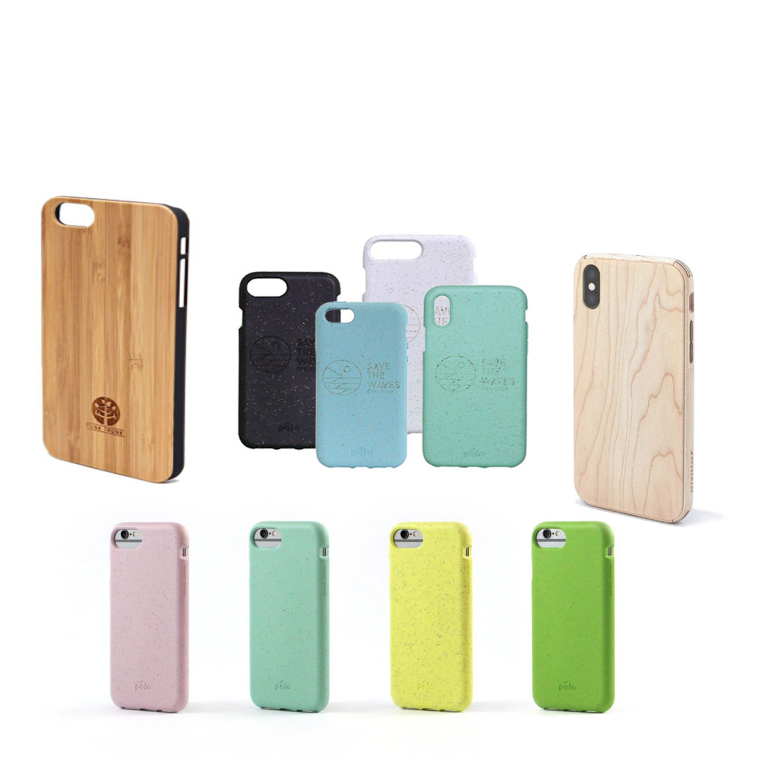 Next time you need one, choose a biodegradable phone case
