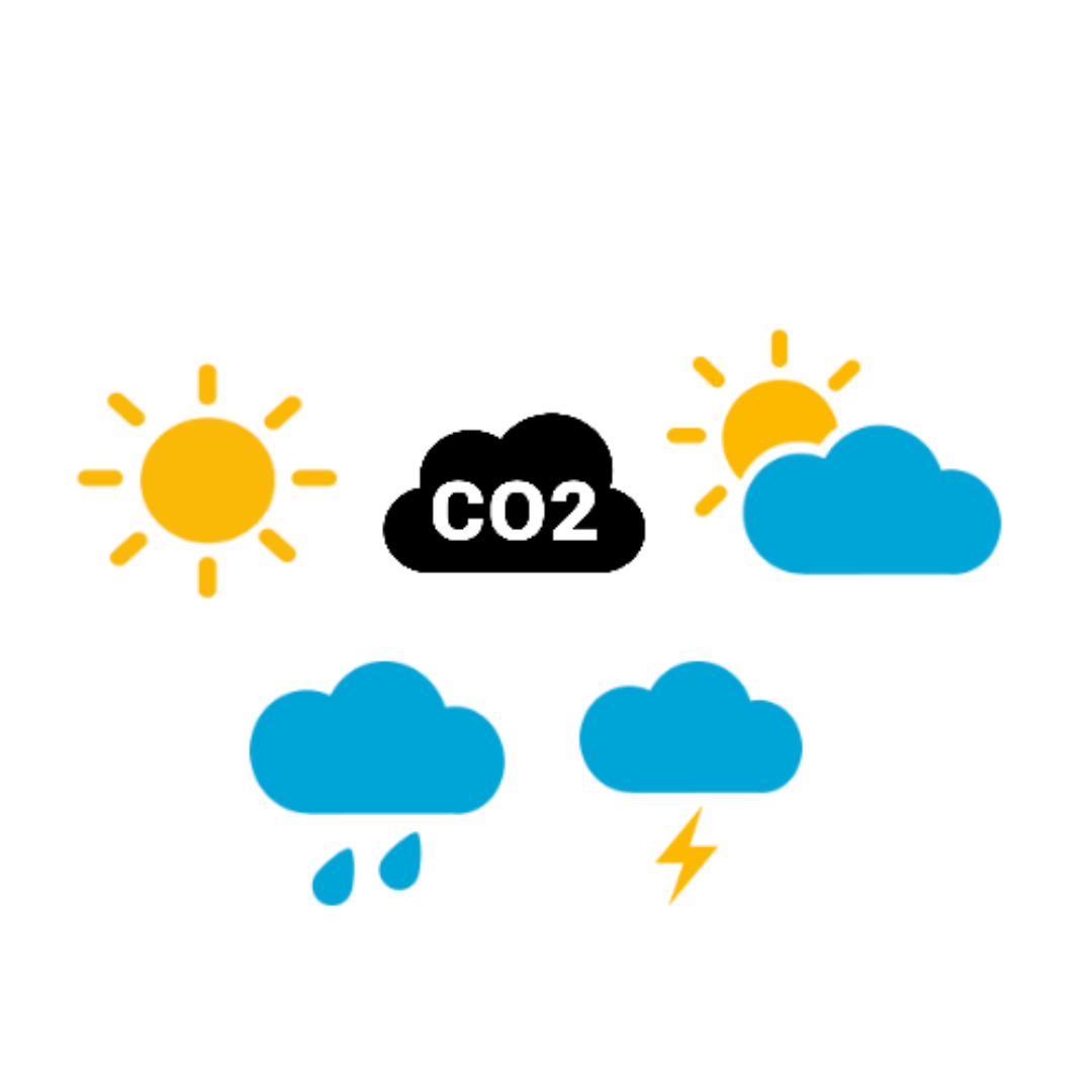 The Guardian news paper to include CO2 levels in weather forecasts