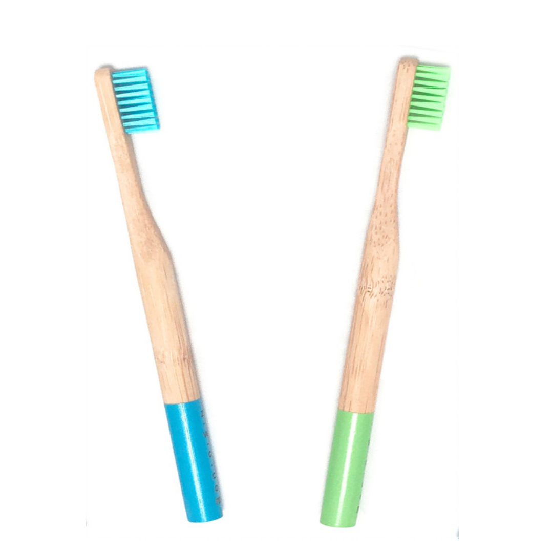 Use a biodegradable bamboo toothbrush