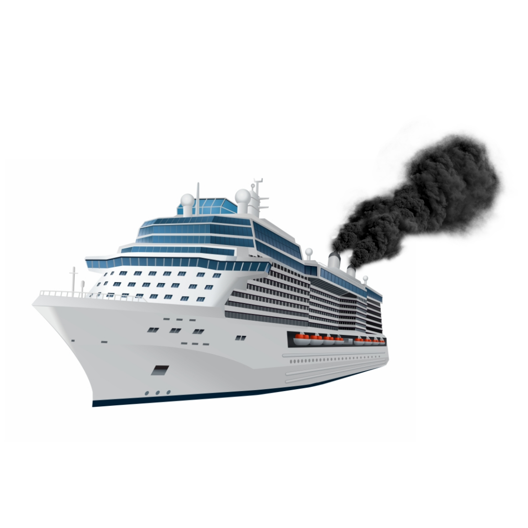 Cruise ships pollute more than a million cars