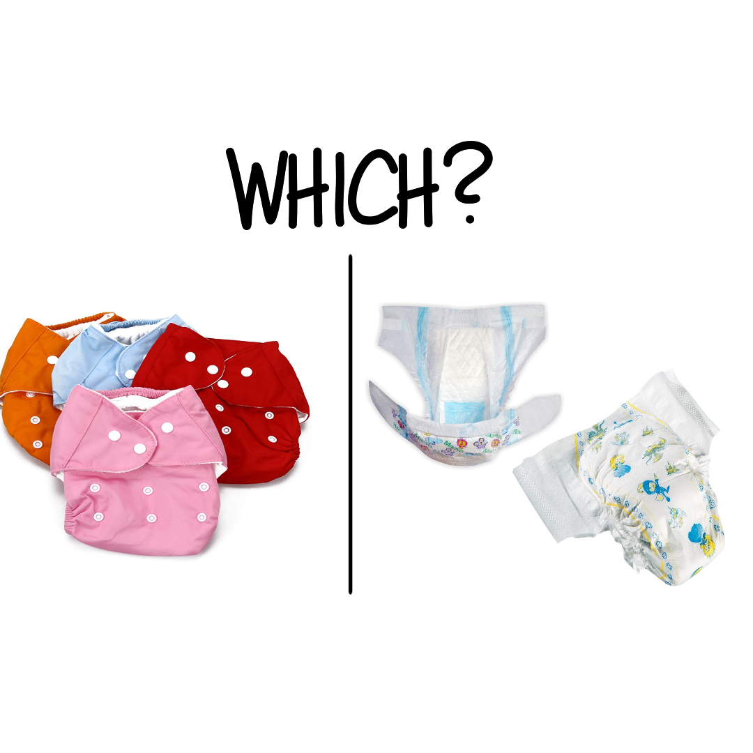 Reusable nappies vs. Disposable nappies