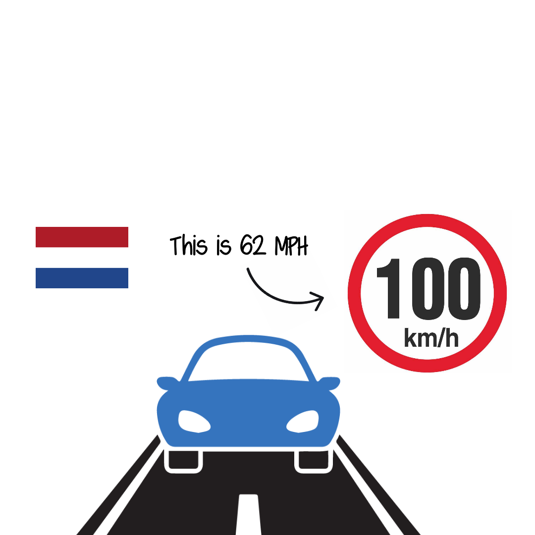 The Netherlands cut speed limit to fight climate change