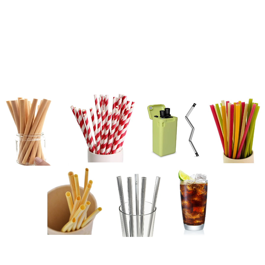 Forget about plastic straws, look at all these options