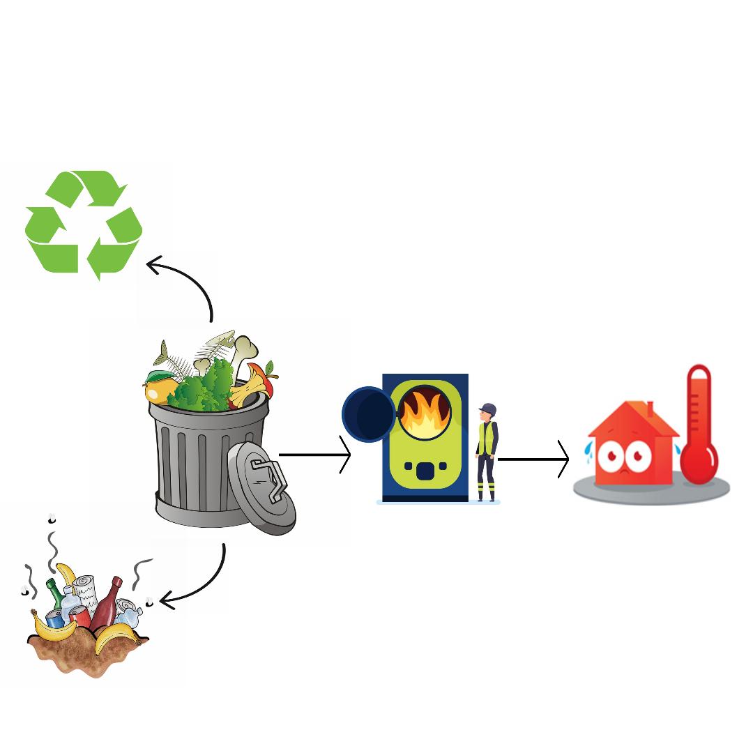 Suecia envía menos del 1% de los residuos a los vertederos