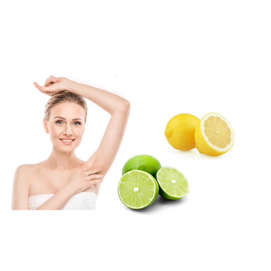 Use lemon or lime as natural deodorant