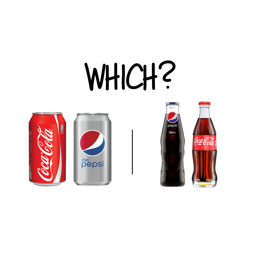 Aluminium cans vs. Glass bottles