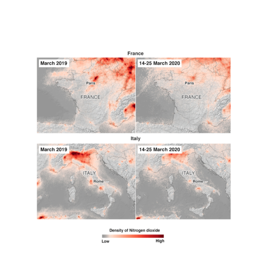 Air quality improves in Europe