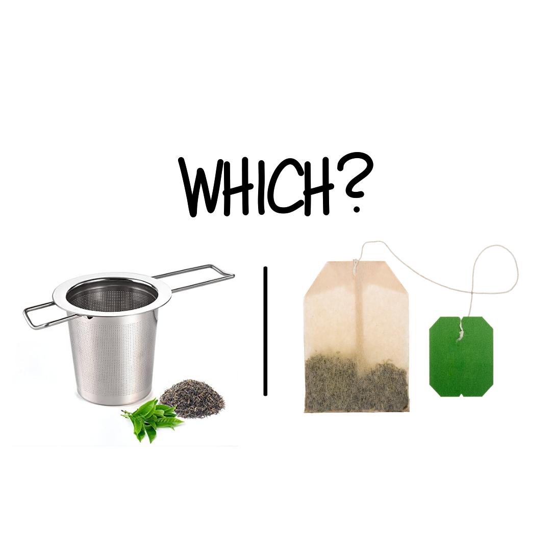Té a granel vs. Té en bolsas