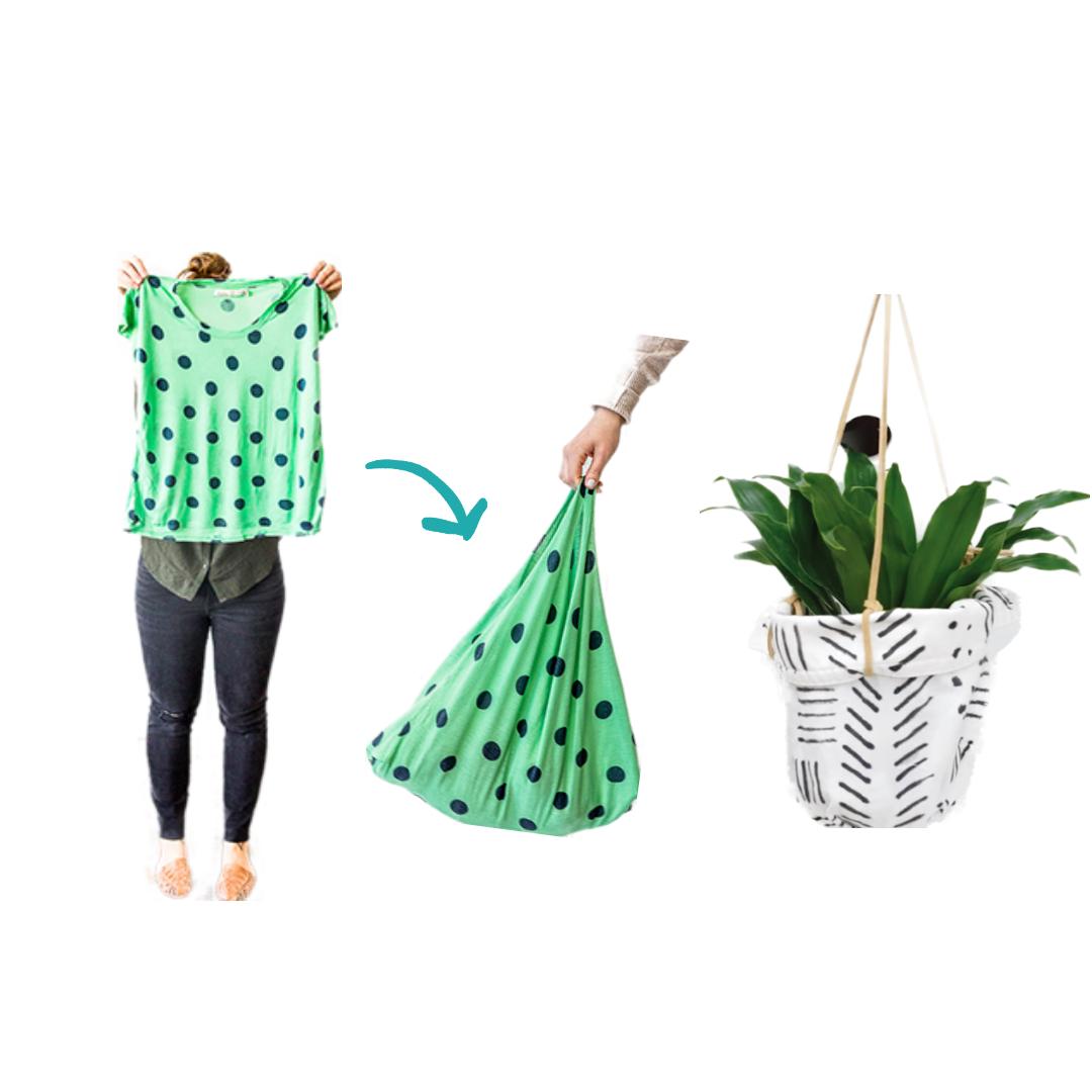 Reutiliza tus camisetas viejas
