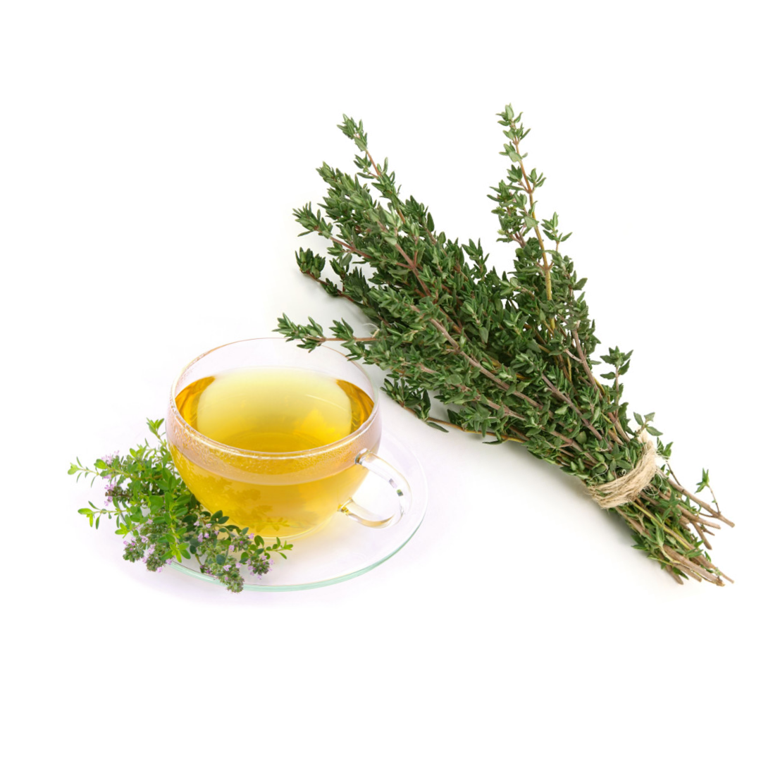 Thyme tea is a natural remedy for cough